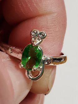 Sterling Silver Mouse Ring Size 9 for Sale in Wenatchee,  WA