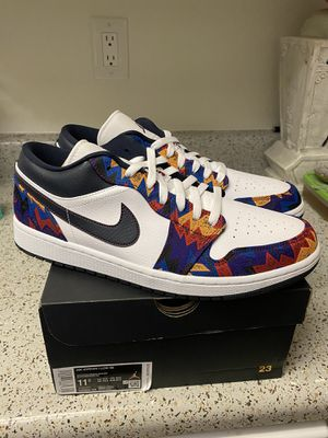 Air Jordan 1 low se nothing but net size 11.5 for Sale in Tustin, CA