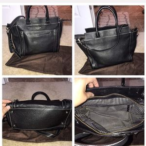 Black Leather Kate Spade Bag for Sale in Indianapolis, IN