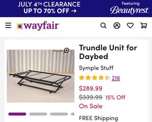 POP- UP TRUNDLE for Sale in Columbus, OH