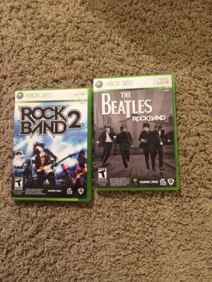 Xbox 360 rock band games for Sale in Columbus, OH