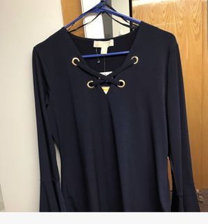 Navy Blue Michael Kors Blouse for Sale in Washington, DC