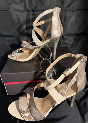 New Woman's Vince Camuto Heel Pumps Stilettos Size 10 Zippered Back Holiday Gift for Sale in Stockton, CA