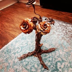 Handmade Copper Rose Plant for Sale in Naples, FL