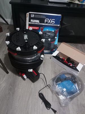 Fluval fx6 smart pump/ filter for Sale in Jacksonville Beach, FL