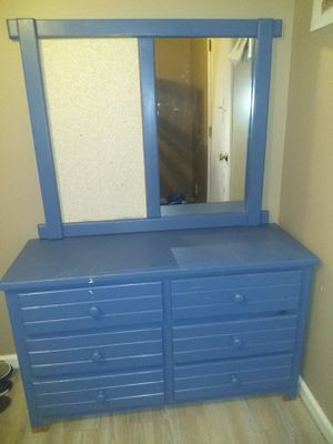 Children's Dresser/Mirror set with bulletin board for Sale in Mt. Juliet, TN