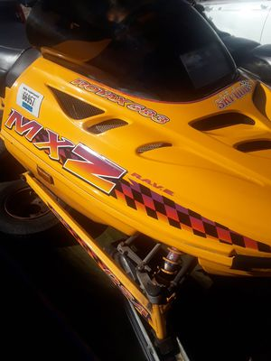 96 skidoo MKZ 2 low hours with trailer for Sale in Randolph, MA