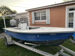 Hewes flats boat powered by 200hp merc for Sale in Pembroke Pines, FL
