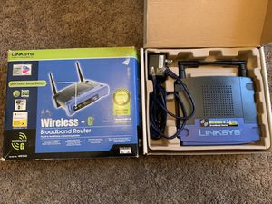 Linksys Wireless broadband router for Sale in Morrisville, PA