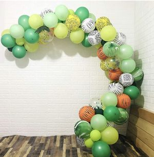 Safari theme balloon garland for party balloon decoration for boy or girl for Sale in Houston, TX