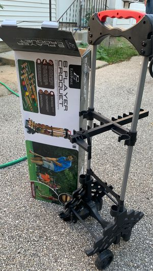 6 player croquet for Sale in Marengo, IL