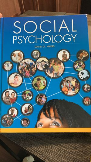 Social psychology David Myers college book for Sale in Sheridan, CO