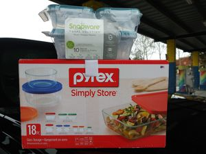 Pyrex and Snapware for Sale in Concord, CA