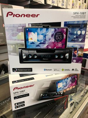 Pioneer sph-10bt in-dash stereo smartphone receiver for both Android or Apple on sale today for only 139 for Sale in Torrance, CA
