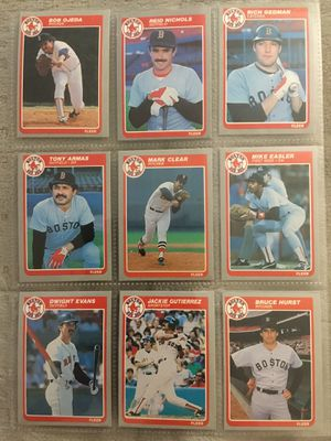1984/1985 Fleer baseball cards. 562 total cards. for Sale in Aurora, CO