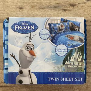 OLAF/FROZEN TWIN SIZE BEDDINGS BRAND NEW for Sale in Lakewood, CA
