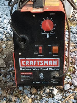 Craftsman 110 gasless wire feed welder for Sale in Pikesville, MD