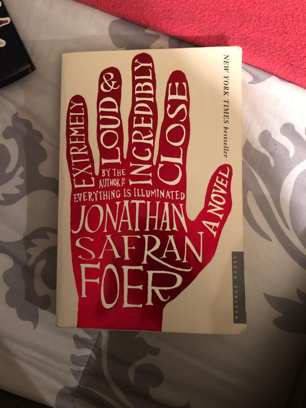 Extremely Loud and Incredibly Close Jonathon Sacramento Foer