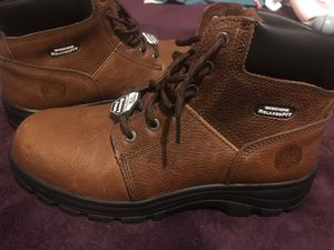 Skechers steel toe work boots for Sale in Madera, CA