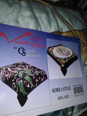 Double side comforter King size for Sale in Ellijay, GA