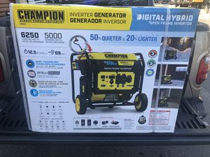 Champion 6250 watt generator for Sale in Columbus, OH