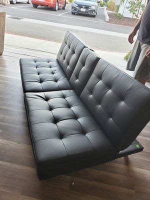 Leather Futon for Sale in Colton, CA