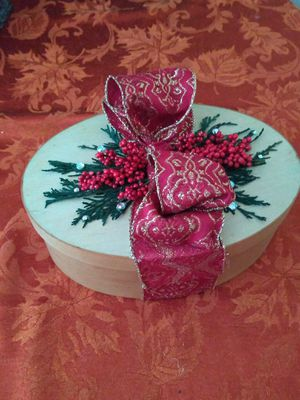 Wooden gift box for Sale in Buckingham, VA