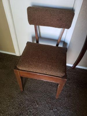 Wooden Chair with Storage for Sale in Fresno, CA