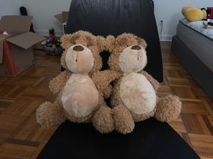 Two GUND teddy bears for Sale in Chestnut Hill, MA