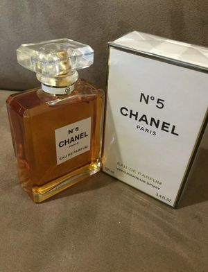 Chanel No 5 Women's Perfume EDP 3.4 oz 100 ml BRAND NEW AND SEALED for Sale in Houston, TX