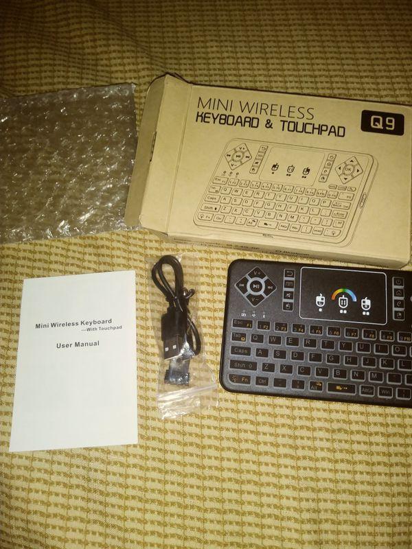 Wireless Keyboard & Touchpad