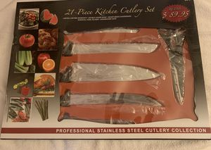 Kitchen cutlery set for Sale in Pickerington, OH