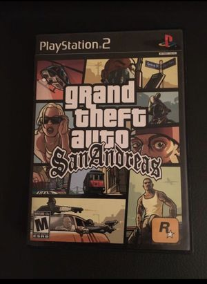 Grand Theft Auto San Andreas PS2 Playstation 2 for Sale in Gilbert, AZ