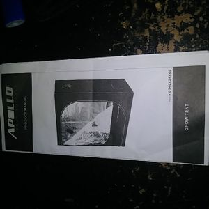 Apollo Grow Tent 2x4 Kit , And Apollo 4x4 Tent Kit (2 Tent Kits Total) for Sale in Coral Springs, FL