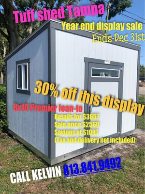 Tuff shed 8x10 premier lean2 for Sale in Tampa, FL