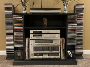 Vintage Technics Stereo System/150+ CD's/ 30+ Records & Cassette Tapes for Sale in Baltimore, MD