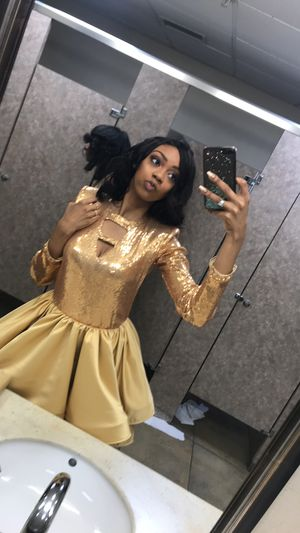Gold Junior Prom Dress for Sale in Baltimore, MD
