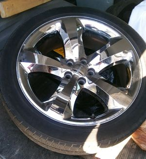"""20""""RIMS & TIRES FOR SELL for Sale in Joliet, IL"""
