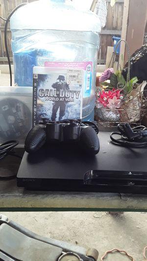 PS3 for sale $70 for Sale in San Bernardino, CA