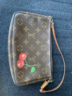 Louis Vuitton Pouchette limited edition cherries for Sale in San Antonio, TX