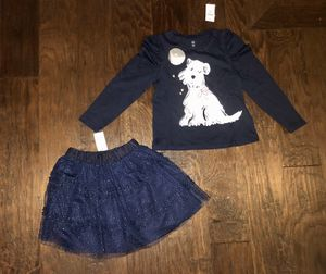 New With tags Baby GAP Tulle skirt and tee 4T for Sale in Mill Creek, WA