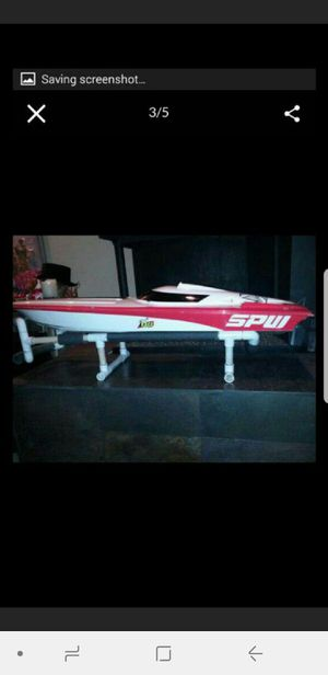 It's a HUGE custom RC boat made my Insane Boats for Sale in San Diego, CA