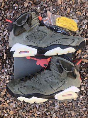 Travis Scott Air Jordan 6s Size 9 for Sale in Avondale, AZ