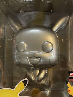 Pikachu Funko Pop 25th Anniversary Exclusive ( 10 Inch ) for Sale in Tolleson,  AZ