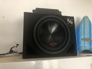 "Alpine 12"" Subwoofer & Amplifier for Sale in Durham, NC"