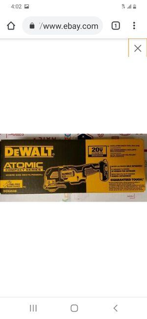 Dewalt 20v xr brushless atomic multi tool ( tool only for Sale in San Jose, CA