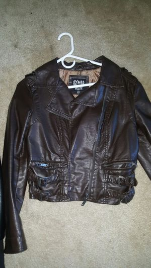 Brown leather jacket for Sale in MD, US