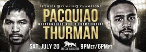 Pacquiao v Thurman @ MGM for Sale in Las Vegas, NV