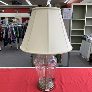 Fredrick Cooper Lamp With Ivory Lampshade for Sale in Broadview, IL