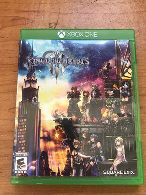 Kingdom hearts 3 Xbox one for Sale in Seattle, WA